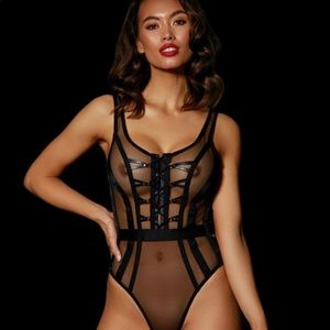 Honey Birdette Alina Bodysuit